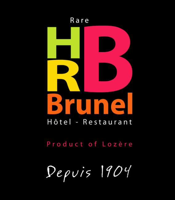 Logotype HRB fond noir